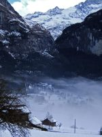 Mountain Fog by MandarinManMark