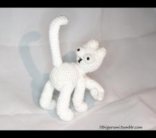 Simons Cat Amigurumi by LithiumNBorderline