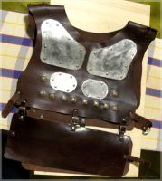 LARP Gears Leather armour 02 by Meow-chi