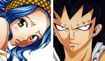 Gajeel+Levy by kim-chee