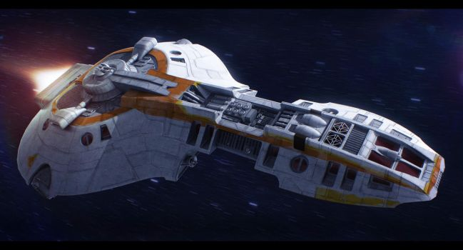 Star Wars E-9 Loronar Explorer by AdamKop