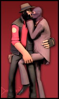 SFM Poster: Happy Valentines Day by PatrickJr