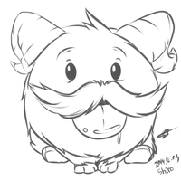 LOL Poro! by kyodashiro