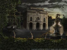 Sleepy Hollow.Mansion by kidy-kat