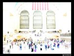 The Times in Grand Central by ghstomahawks