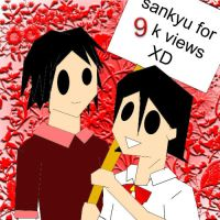9k views: thanks lots by retARTed