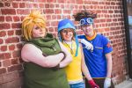 Digimon- Tai, Sora, Matt by twinfools