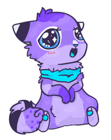 Cocra Commission 1/3 - Chibi by Cushies