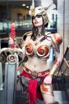 Leauge of Legends - Valkyrie Leona Cosplay by KawaiiTine