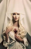 White Madonna by Widmanska