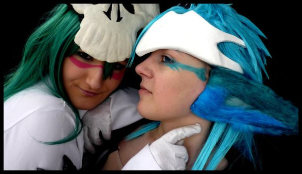 Bleach: Nell and Grimmjow by MorbusParkinson