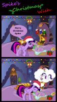 Spike's Christmas Wish by Nightfire3024