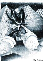 Dark Super Sonic... by goldhedgehog