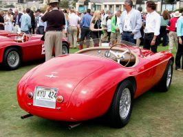 Ferrari 166 RUSH RED BARCHETTA by Partywave