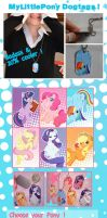 MLP DogTags Preorders by Bisc-chan
