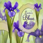 Lucie's blue iris by LucieG-Stock