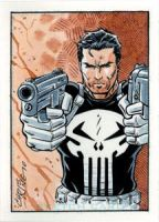 Comics For Cure - Punisher by 93Cobra