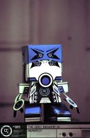 Zero Infantry 01 Papertoy by SubjektZero