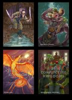 Conflicting Kingdoms Cards 3 by AlanPerry
