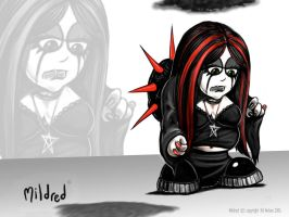 Mildred the Goth by kitster29