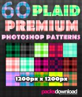 60 Plaids Premium Patterns by Packsdownload