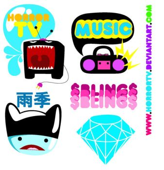Sum Stickers by horrortv