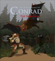 Conrad And The Giant Bat by RuntyTiger