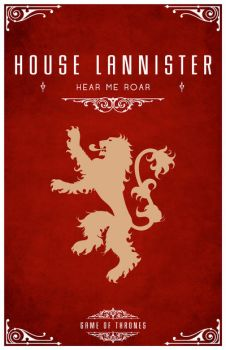 House Lannister by LiquidSoulDesign