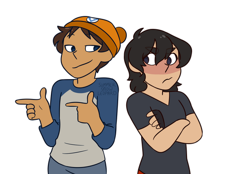 Klance Grojband AU 1 by summer-draws