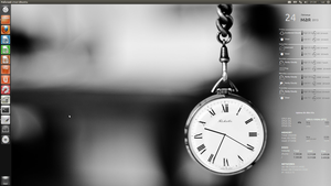 CAI Clock Conky for Ubuntu HiRes(1920x1080) by CAI79