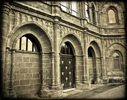 The Gothic Temple Arches by Estruda