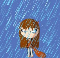 Scratte in the Rain by PuccaFanGirl