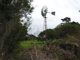 Old Windmill by stock-kitty
