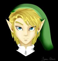 My attempt of Link by Jesse-Drawz