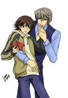 Junjou Romantica - Colour by psycholark