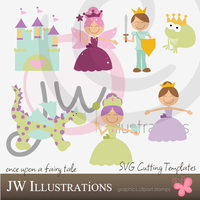 Fairy Tale Cricut SVG by jdDoodles