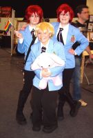 Ouran Cosplay at MCM Expo by vgillian