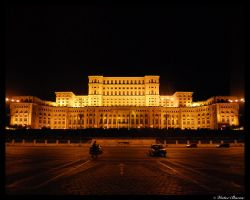 Palace of the Parliament by victorbarac