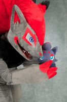 Zoroark Cosplay 3 by Toriroz