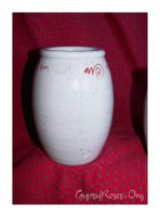 Spoon Jar with Spirals by che4u