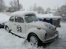 Herbie's Got a Snow Afro :3 by Blockwave