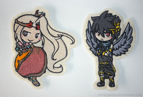Patch commission: Viridi and Dark pit by goiku