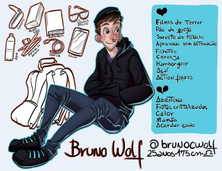 Meet The Artist - Bruno Wolf by brunoces