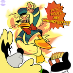 The Duck With Anger Issues by RB9