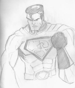 DSC 5.23.12 - Red Son Superman by A-Rob