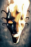 The Elemental Face: Fire by Rajala