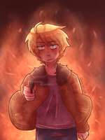APH America: This Means WAR w/o text by black-feather1013