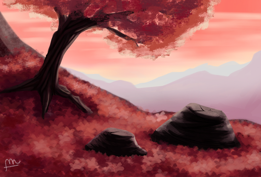 Quiet Mountain by ForeverMuffin