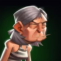 Dungeon Defenders Prisoner Portrait by DanielAraya
