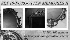 Set 10-Fogotten Memories II by blue-emotion